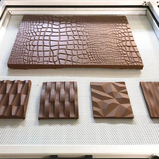 leather panel wood