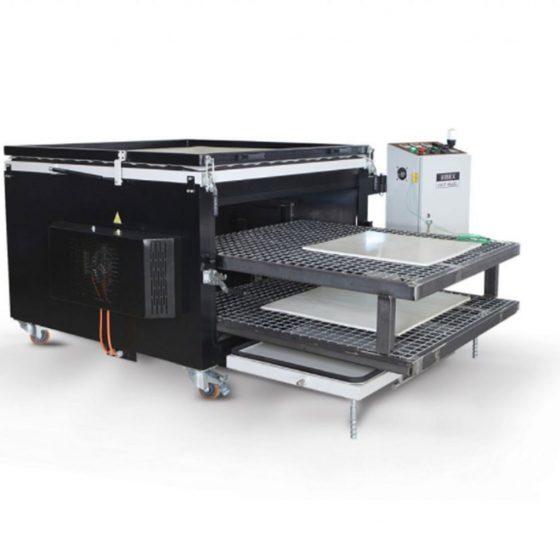 prensa de vacio silicona